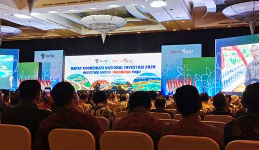 Rapat Koordinasi Nasional (Rakornas) Investasi 2020