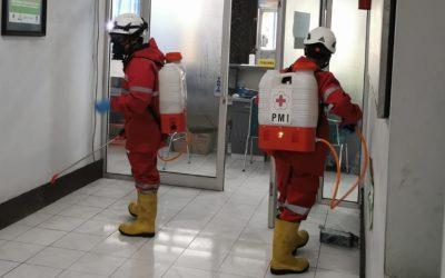 Sterilisasi Kantor DPMPTSP Karanganyar