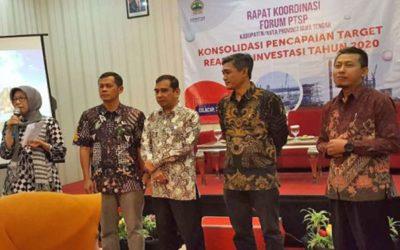 Rapat Koordinasi Forum PTSP Kabupaten / Kota Provinsi Jawa Tengah