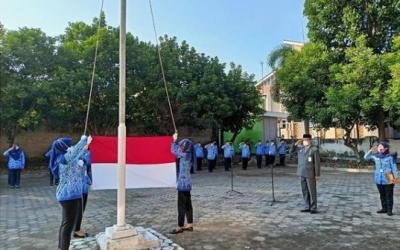 Upacara Peringatan ke 76 Kemerdekaan Republik Indonesia